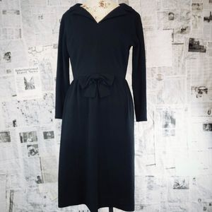 Alison Ayres vintage early 1950s wool dress.